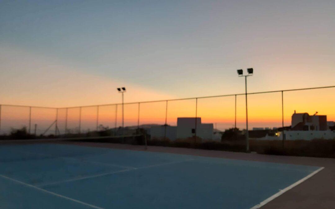 Κλειστό λόγω εργασιών συντήρησης το γήπεδο τένις στο Μεγαλοχώρι