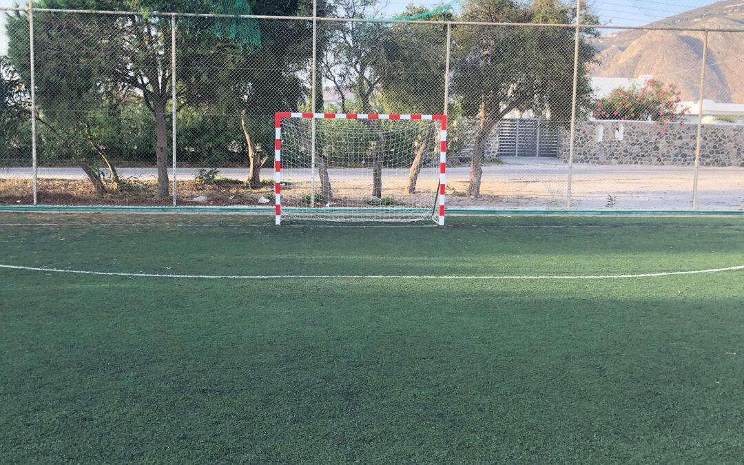 Ασφαλές και απολύτως λειτουργικό το γήπεδο ποδοσφαίρου στον Αγ. Γεώργιο