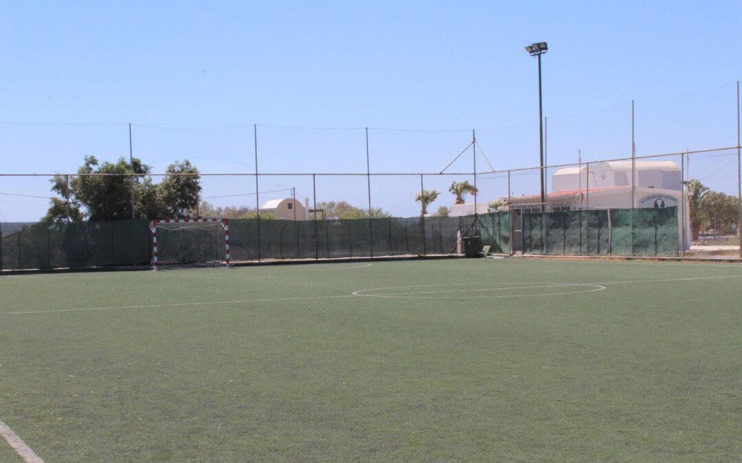 Ανοίγουν τα εξωτερικά γήπεδα ποδοσφαίρου 5Χ5 και καλαθοσφαίρισης