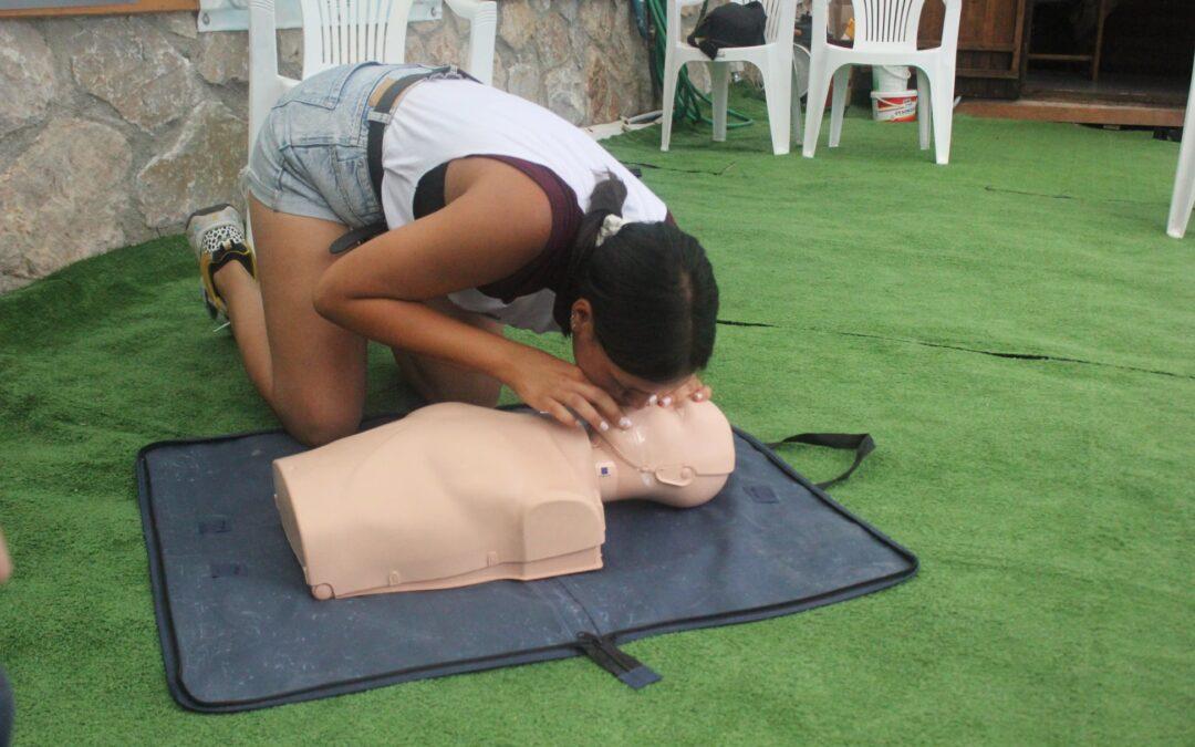 Ξεκίνησαν τα δωρεάν μαθήματα διάσωσης και πρώτων βοηθειών στα σώματα ασφαλείας από τον Δ.Α.Π.Π.Ο.Σ