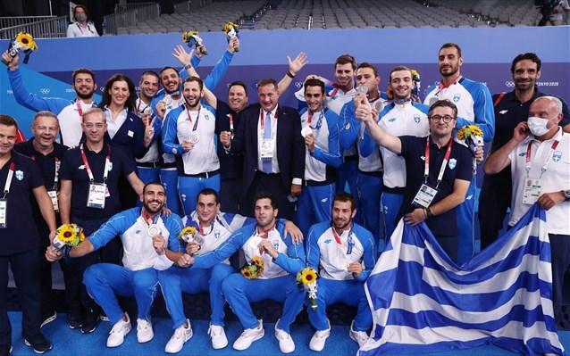 Συγχαρητήρια στην Εθνική Ομάδα Πόλο
